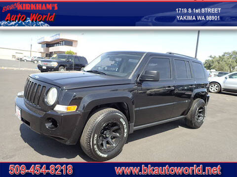 2007 Jeep Patriot for sale at Bruce Kirkham Auto World in Yakima WA