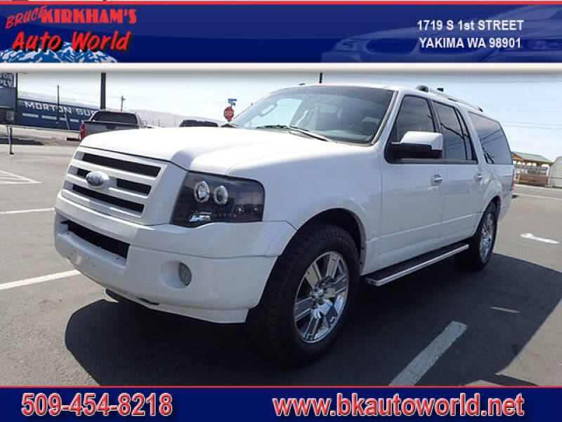 2009 Ford Expedition EL for sale at Bruce Kirkham Auto World in Yakima WA