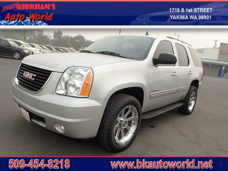 2011 GMC Yukon for sale at Bruce Kirkham Auto World in Yakima WA