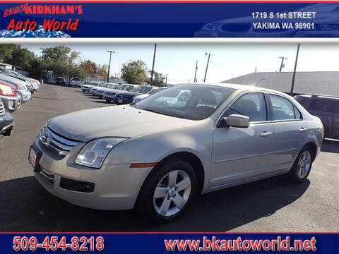 2009 Ford Fusion for sale at Bruce Kirkham Auto World in Yakima WA