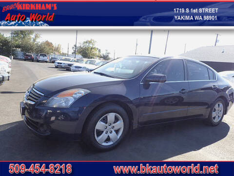 2008 Nissan Altima for sale at Bruce Kirkham Auto World in Yakima WA