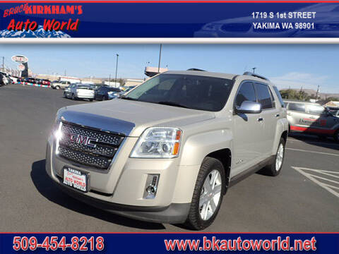 2011 GMC Terrain for sale at Bruce Kirkham Auto World in Yakima WA