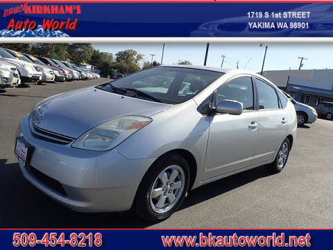 2005 Toyota Prius for sale at Bruce Kirkham Auto World in Yakima WA