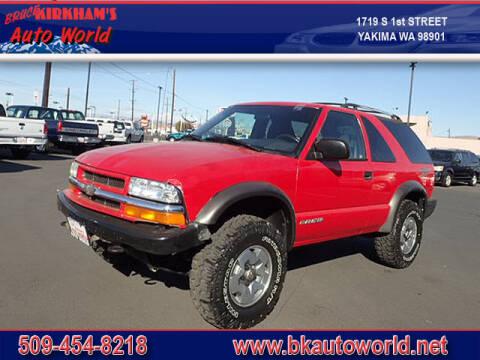 2004 Chevrolet Blazer for sale at Bruce Kirkham Auto World in Yakima WA