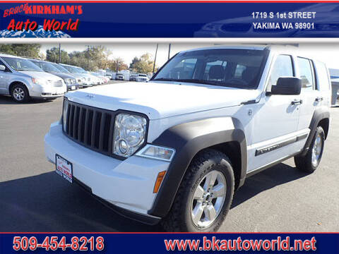 2012 Jeep Liberty for sale at Bruce Kirkham Auto World in Yakima WA
