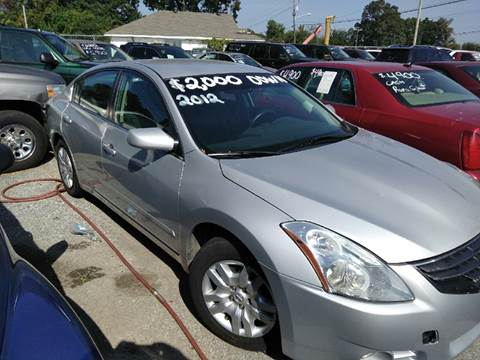 2012 Nissan Altima for sale in Olive Branch, MS