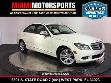 2009 Mercedes-Benz C-Class for sale in West Park, FL