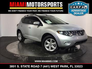 2010 Nissan Murano for sale in West Park, FL