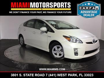 2010 Toyota Prius for sale in West Park, FL