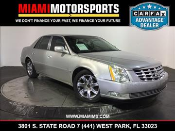 2006 Cadillac DTS for sale in West Park, FL