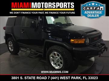 2013 Toyota FJ Cruiser for sale in West Park, FL