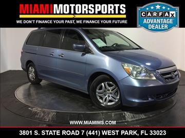2005 Honda Odyssey for sale in West Park, FL