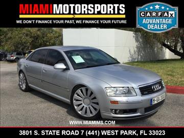2004 Audi A8 L for sale in West Park, FL