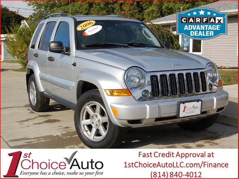 2006 Jeep Liberty Limited In Fairview PA  1st Choice Auto LLC