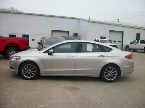 2017 Ford Fusion for sale in Chariton, IA