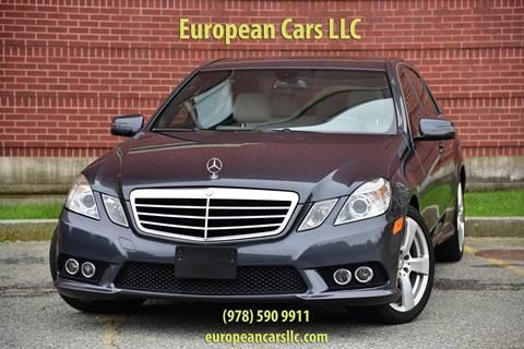 2010 Mercedes-Benz E-Class for sale in Salem, MA