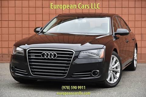 2012 Audi A8 L for sale in Salem, MA