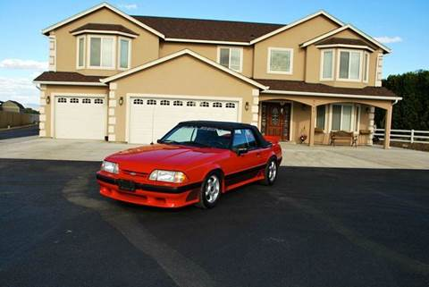 1989 Ford Mustang Saleen for sale at Moxee Muscle Cars in Moxee WA