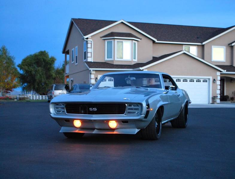 1969 Chevrolet Camaro for sale at Moxee Muscle Cars in Moxee WA
