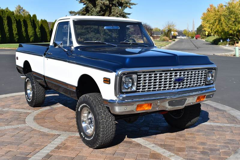 1971 Chevrolet C/K 10 Series for sale at Moxee Muscle Cars in Moxee WA