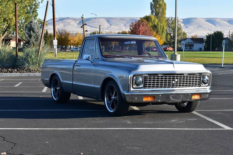 1972 Chevrolet C/K 10 Series for sale at Moxee Muscle Cars in Moxee WA