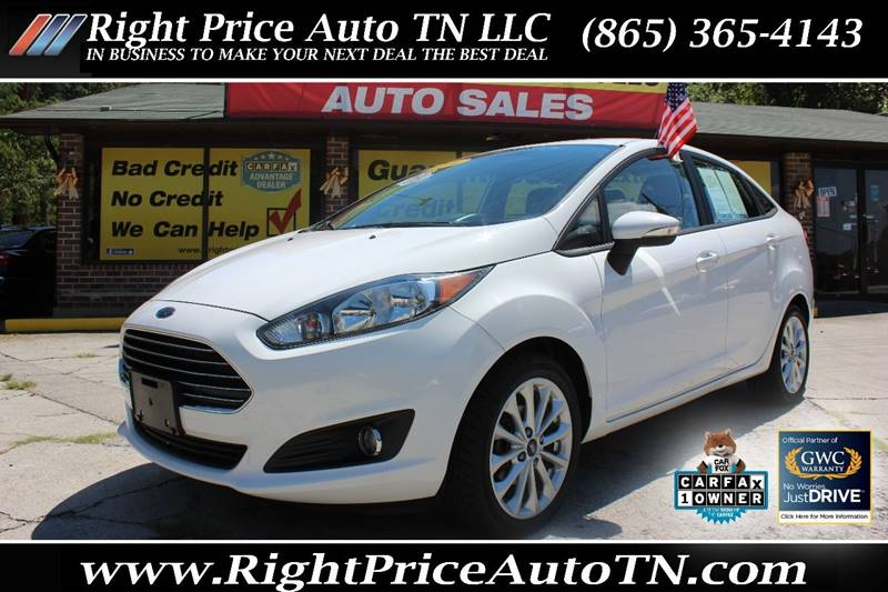 2014 Ford Fiesta For Sale At Right Price Auto In Sevierville TN