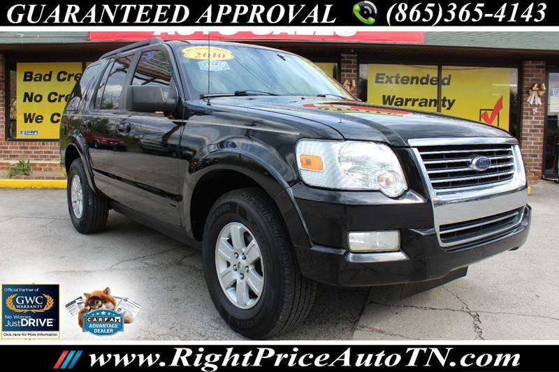 2010 ford explorer xlt in sevierville tn - right price auto