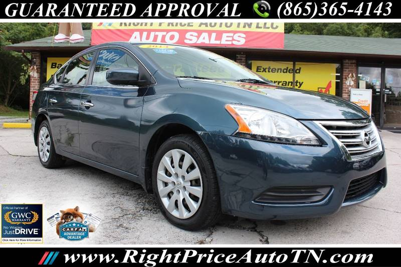 2014 Nissan Sentra For Sale At Right Price Auto In Sevierville TN