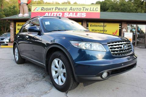 2005 Infiniti FX35 For Sale in Tennessee - Carsforsale.com®
