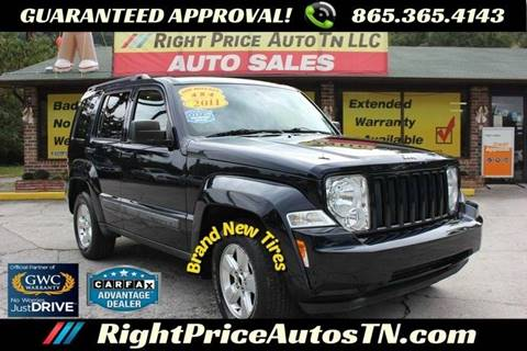 2011 Jeep Liberty for sale in Sevierville, TN