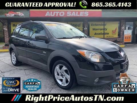 2003 Pontiac Vibe for sale in Sevierville, TN