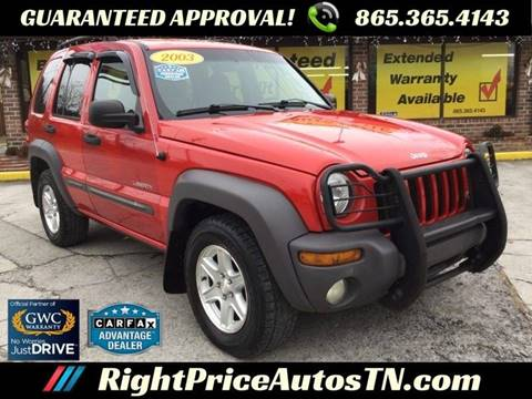 2003 Jeep Liberty for sale in Sevierville, TN