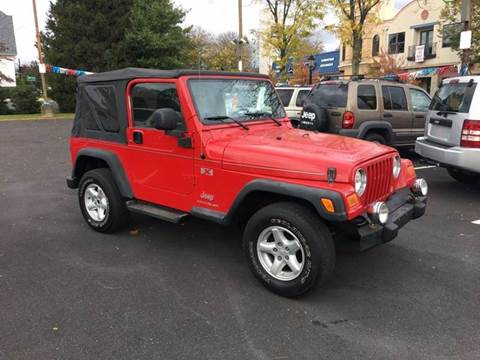 2005 Jeep Wrangler for sale at 4 Below Auto Sales in Willow Grove PA