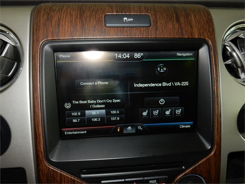 2014 Ford F-150 4x2 Lariat 4dr SuperCrew Styleside 5.5 ft ...