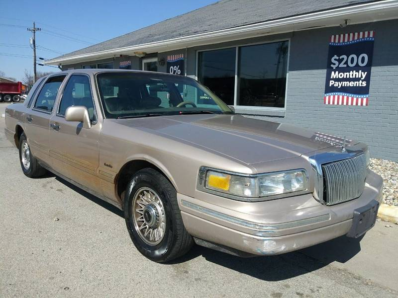 1997 Lincoln Town Car Executive 4dr Sedan In Lafayette In Union