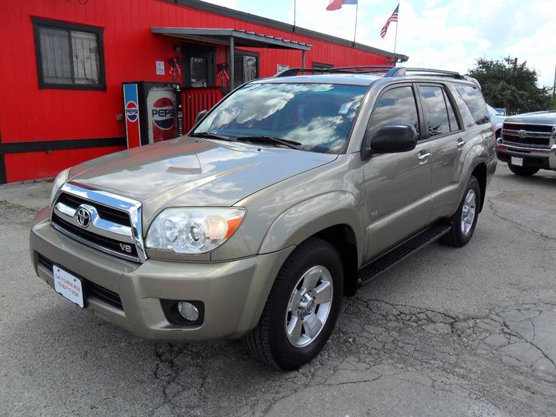 2007 Toyota 4runner Sr5 4dr Suv V8 In Houston Tx Talisman Motor City