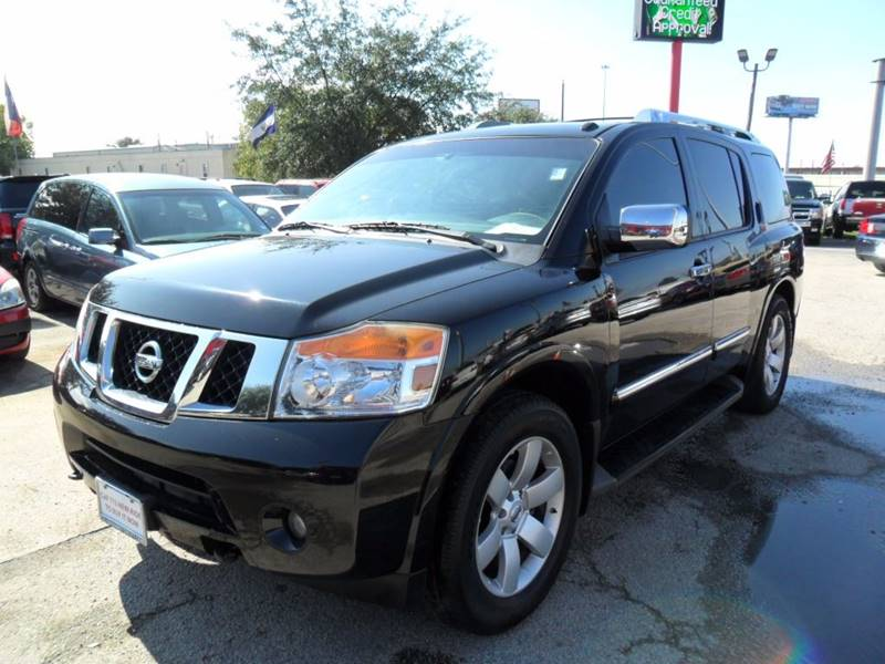 2013 Nissan Armada for sale at Talisman Motor City in Houston TX