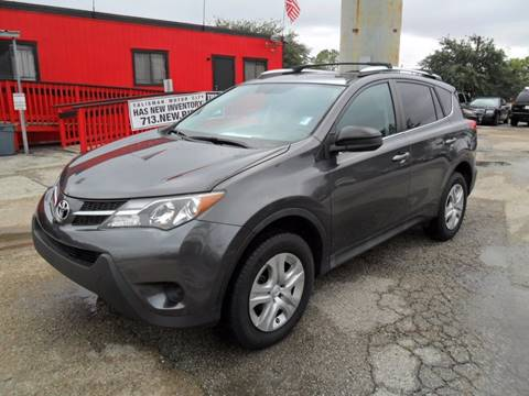 2014 Toyota RAV4 for sale at Talisman Motor City in Houston TX