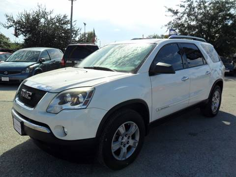 2008 GMC Acadia for sale at Talisman Motor City in Houston TX