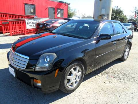 2007 Cadillac CTS for sale at Talisman Motor City in Houston TX