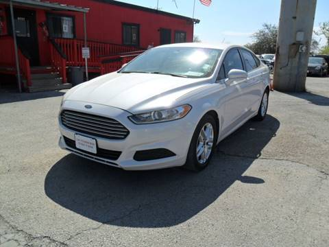 2013 Ford Fusion for sale at Talisman Motor City in Houston TX