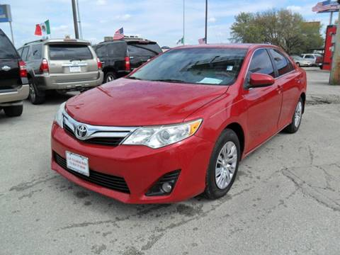 2013 Toyota Camry for sale at Talisman Motor City in Houston TX
