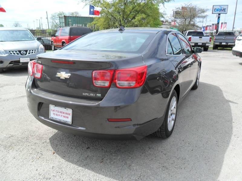 2013 Chevrolet Malibu Eco 4dr Sedan w/1SA - Houston TX