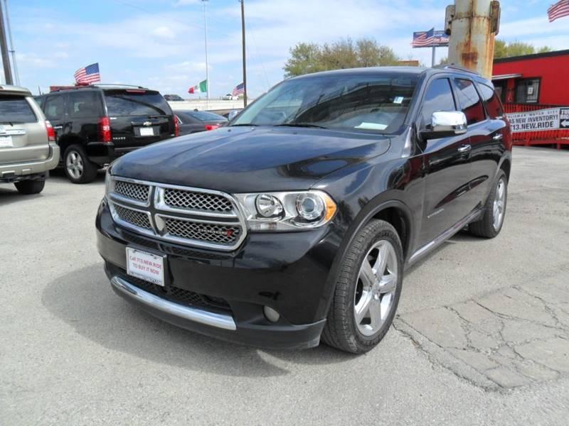 2012 Dodge Durango for sale at Talisman Motor City in Houston TX