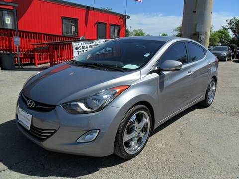 2013 Hyundai Elantra for sale at Talisman Motor City in Houston TX