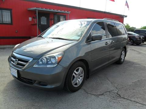 2007 Honda Odyssey for sale at Talisman Motor City in Houston TX