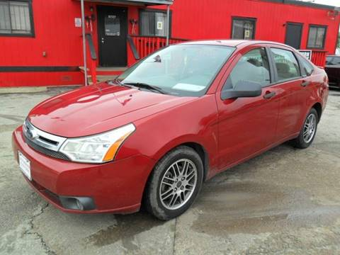 2010 Ford Focus for sale at Talisman Motor City in Houston TX