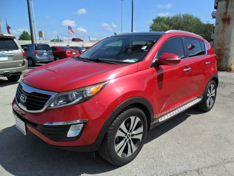 2013 Kia Sportage for sale at Talisman Motor City in Houston TX
