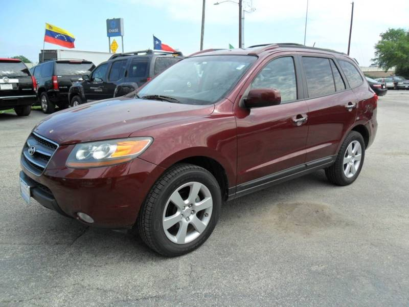 2008 hyundai santa fe limited 4dr suv in houston tx talisman motor city. Black Bedroom Furniture Sets. Home Design Ideas