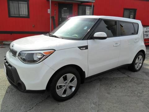 2014 Kia Soul for sale at Talisman Motor City in Houston TX